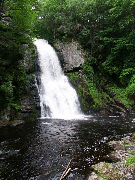 Bushkill Falls.