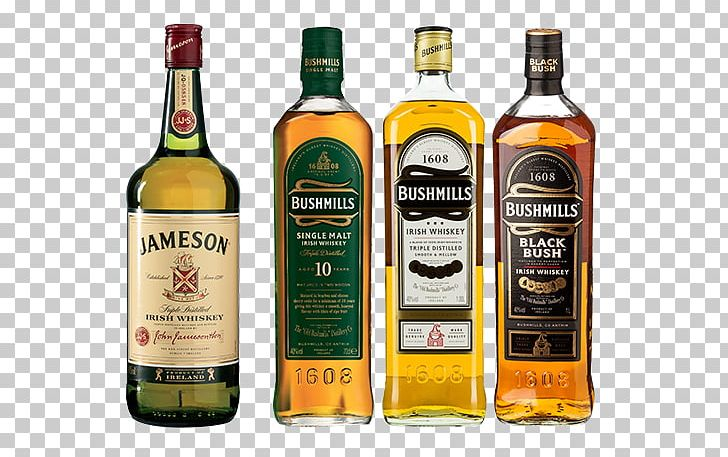 Scotch Whisky Old Bushmills Distillery Single Malt Whisky.