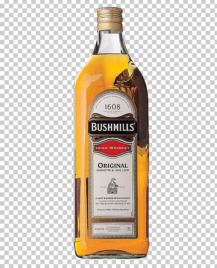 Scotch Whisky Old Bushmills Distillery Irish Whiskey.