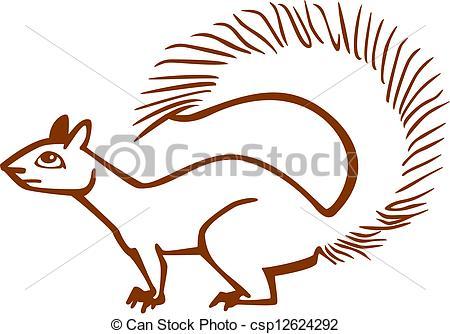 Bushy tail Stock Illustration Images. 162 Bushy tail illustrations.