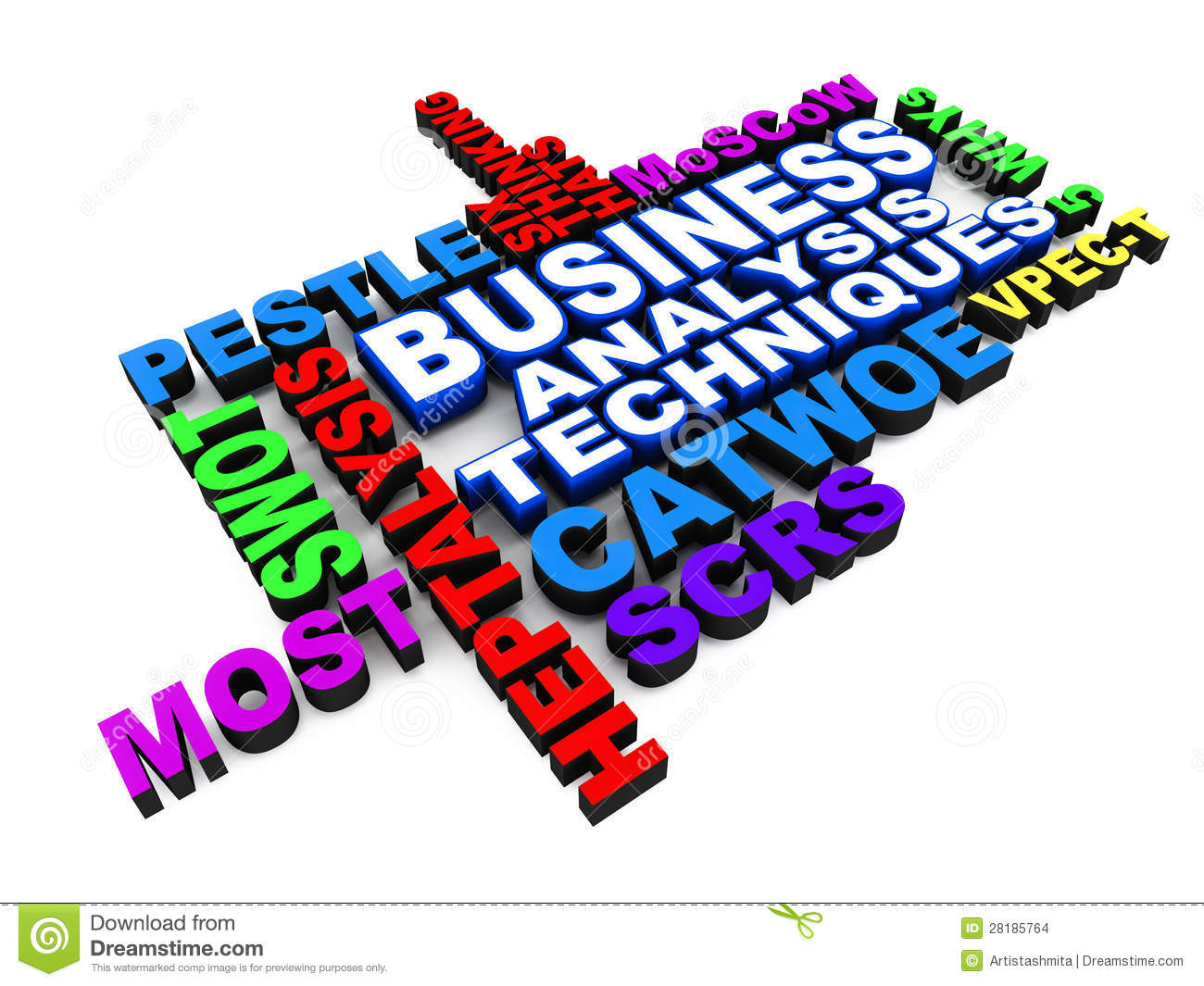 Business Analysis Techniques Stock Images.