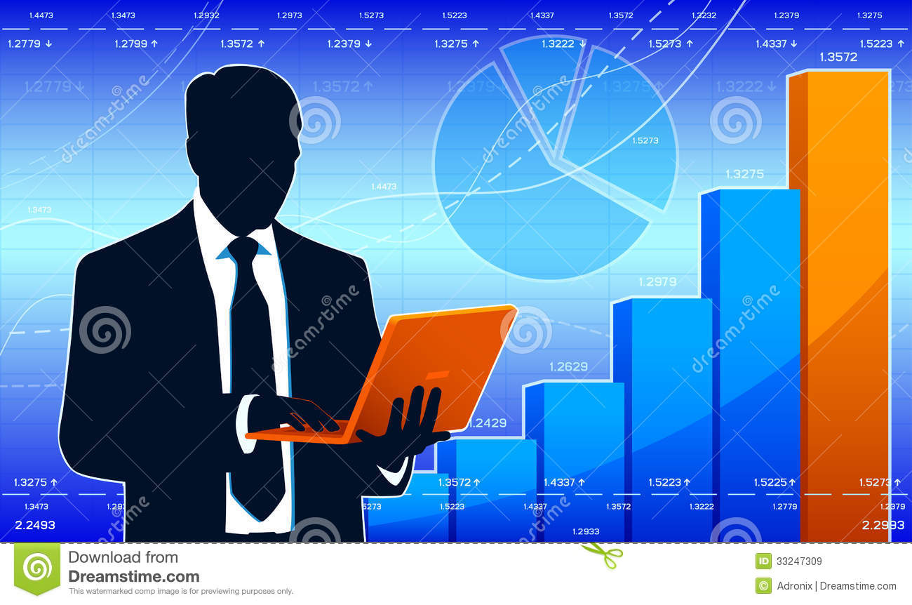 Business Analyst Stock Image.