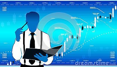 Business Analyst Stock Vector.
