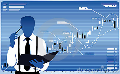 Business Analyst Royalty Free Stock Images.