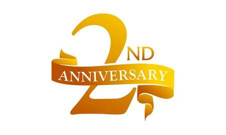 2nd Business Anniversary Cliparts, Stock Vector And Royalty Free 2nd.