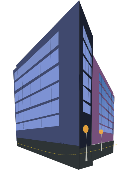 Small Business Building Clipart.