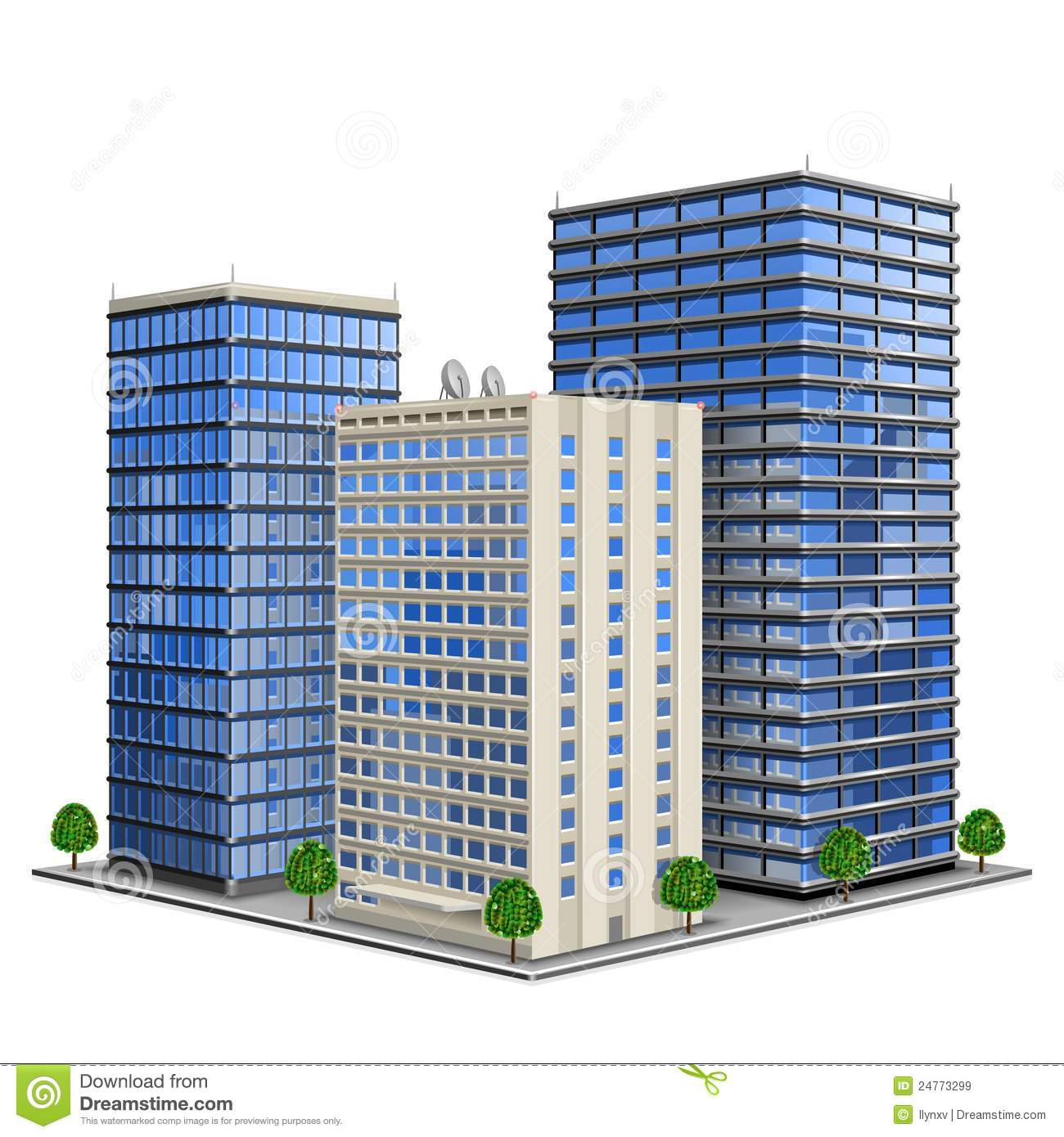 Business building clipart #16