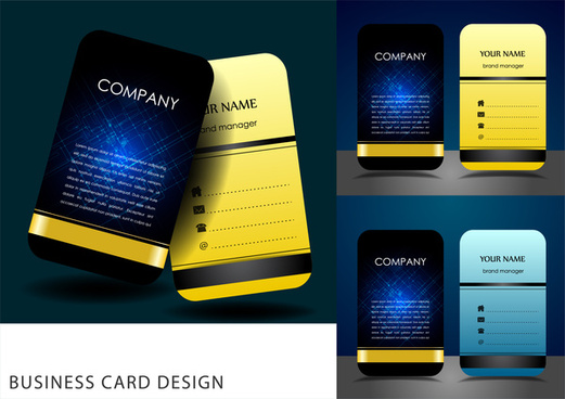2017 business card calendar template free vector download (30,771.