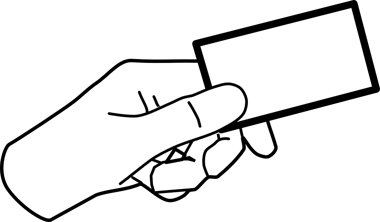 Business Card Clip Art.