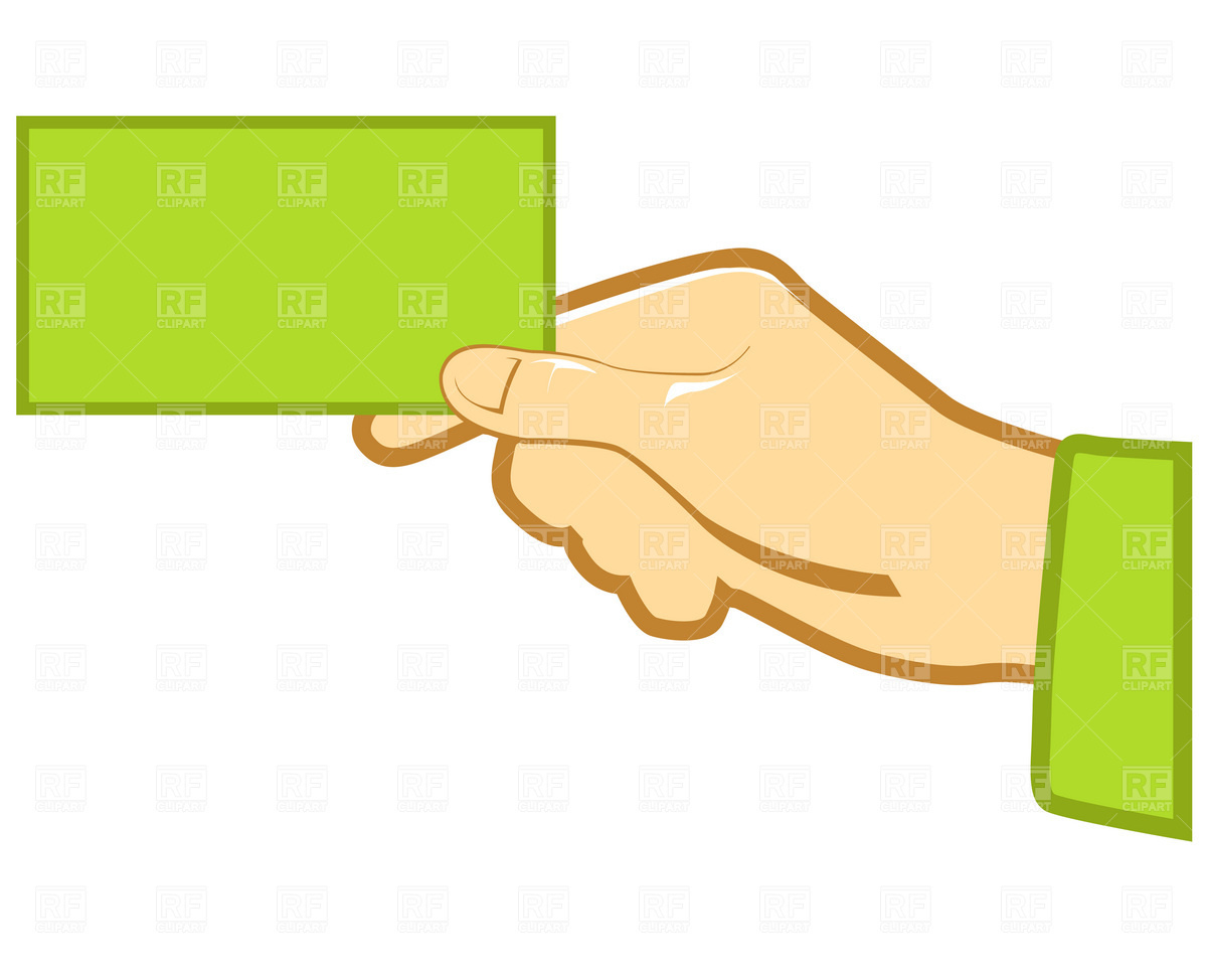 Business Card Clipart.