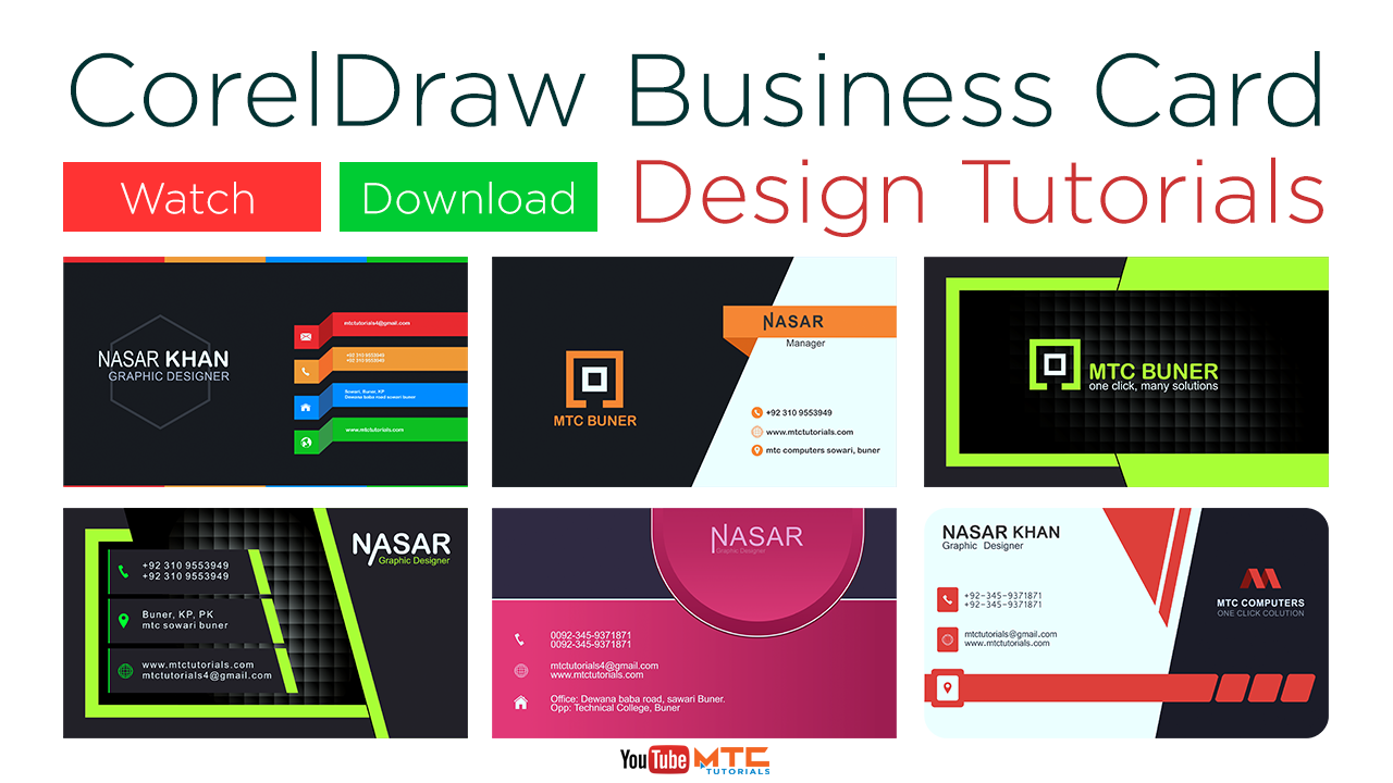 Top 10 Free Business Card Templates.