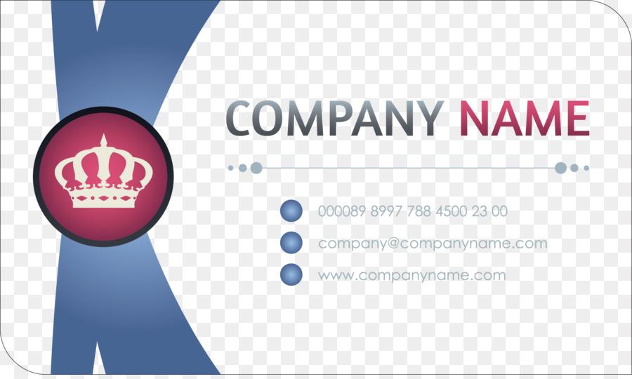 Business Card Design png download.