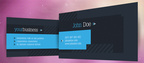 50 Free Photoshop Business Card Templates.