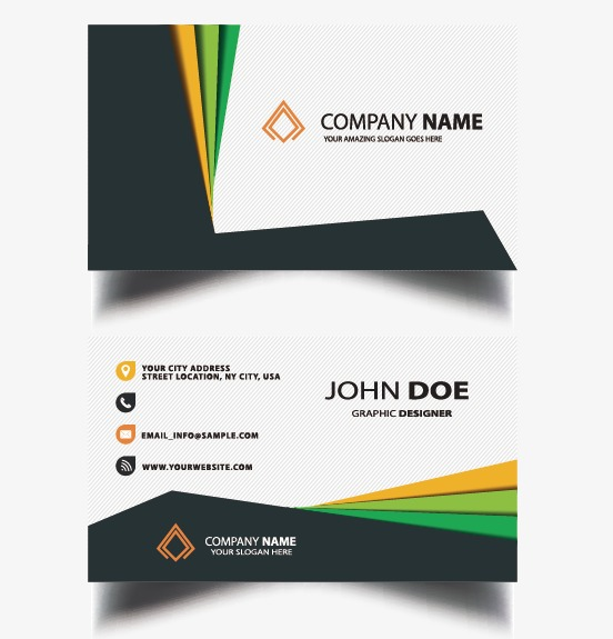 Business Card Template, Business Vector, Card Vector PNG and Vector.