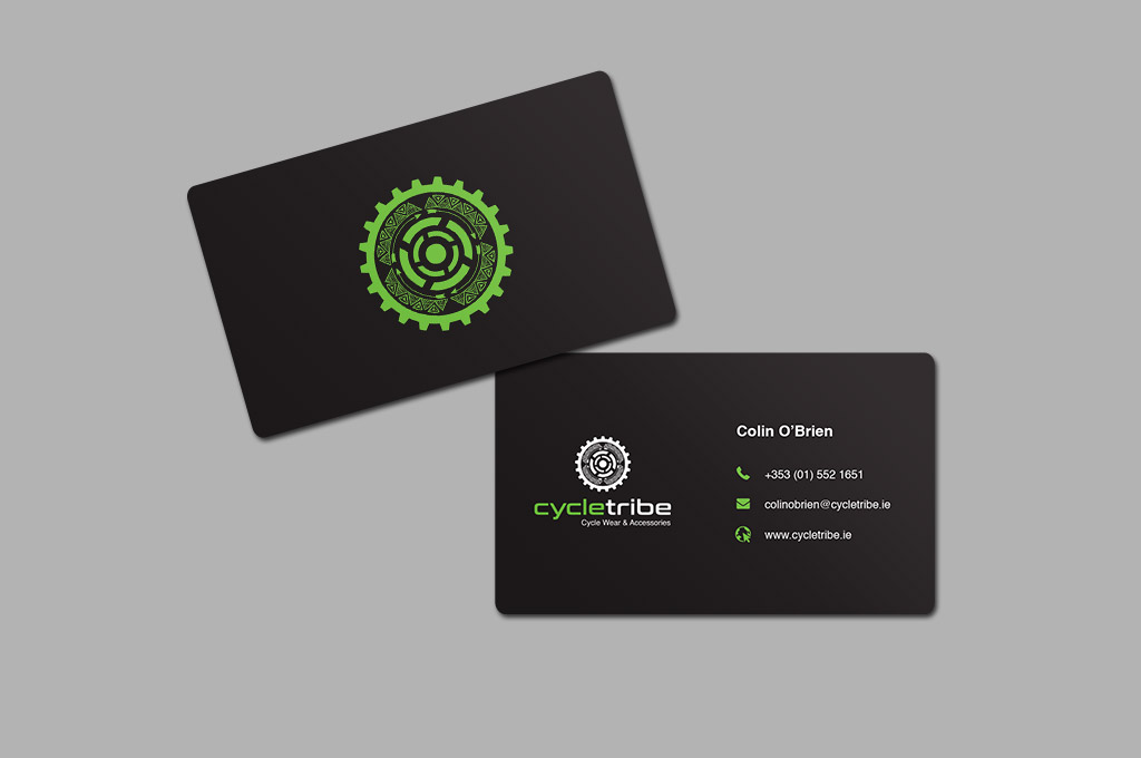 Logo + Business Cards + Flyer Package.