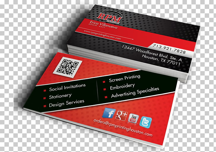 Business Cards Brand, Visiting Card Mockup PNG clipart.
