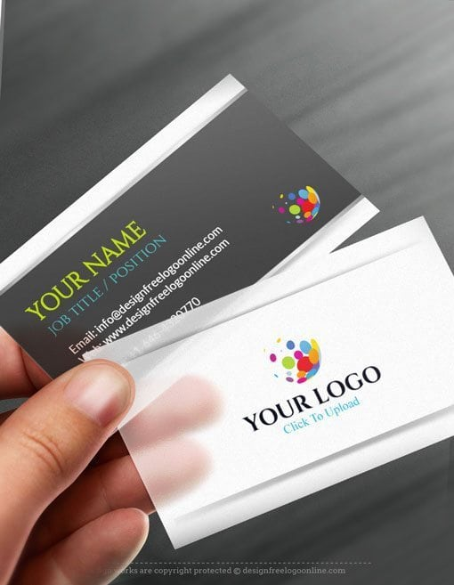 Online Business Card Maker app.