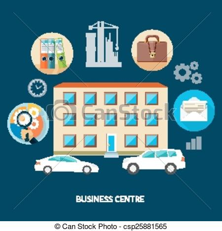 Business center Stock Illustration Images. 47,898 Business center.
