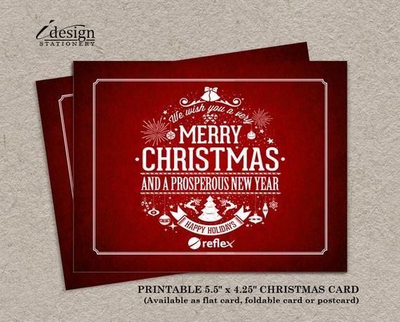 Business Christmas Card.