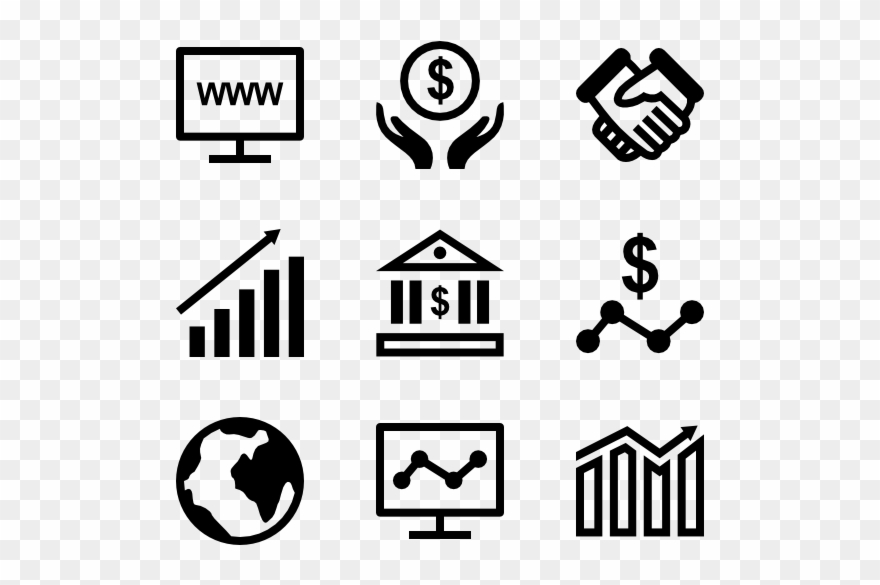 Graphic Black And White Download Business Icon Glyph.