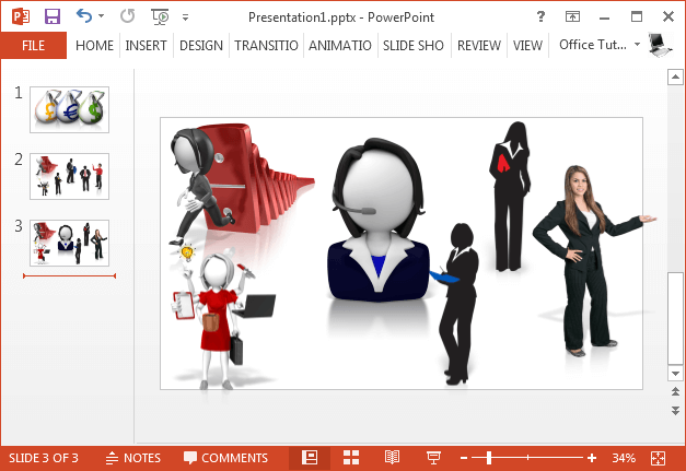 Best Business Clipart For PowerPoint.