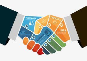 Business Handshake, Business Clipart, Handshake Clipart.