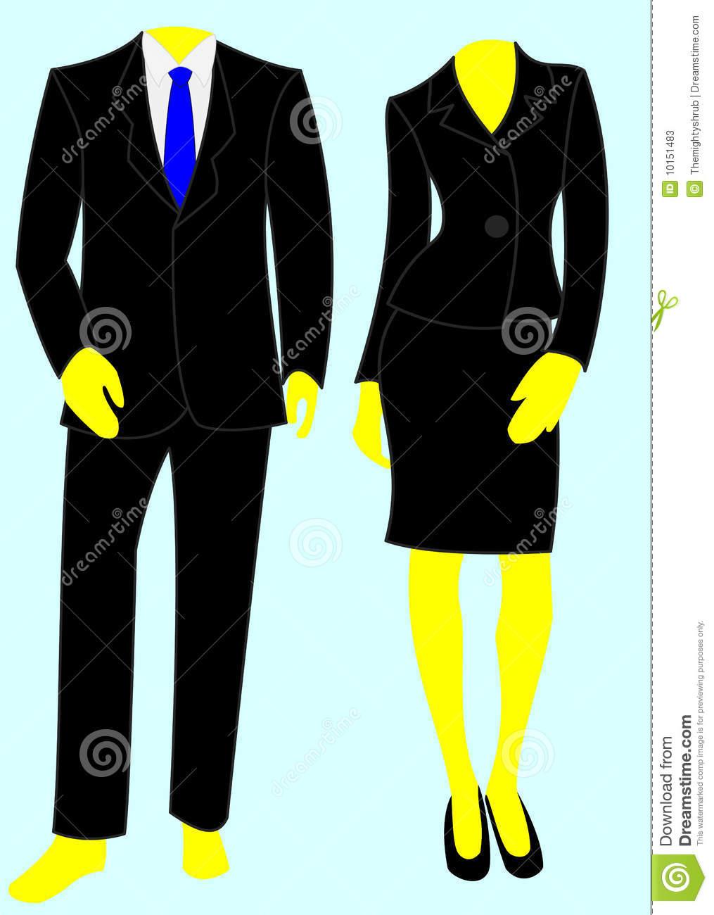 Suit clipart business wear, Suit business wear Transparent.