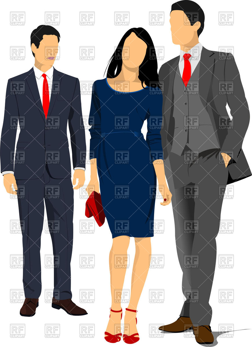 Business Dress Clipart.
