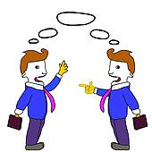Discussion Business Clip Art.