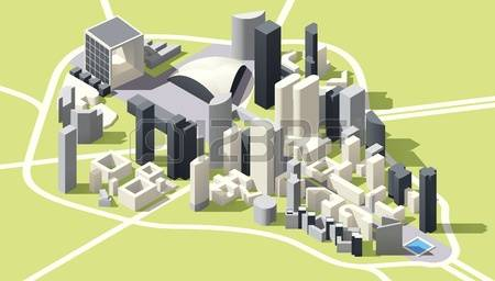 1,409 Landmark Real Estate Stock Vector Illustration And Royalty.