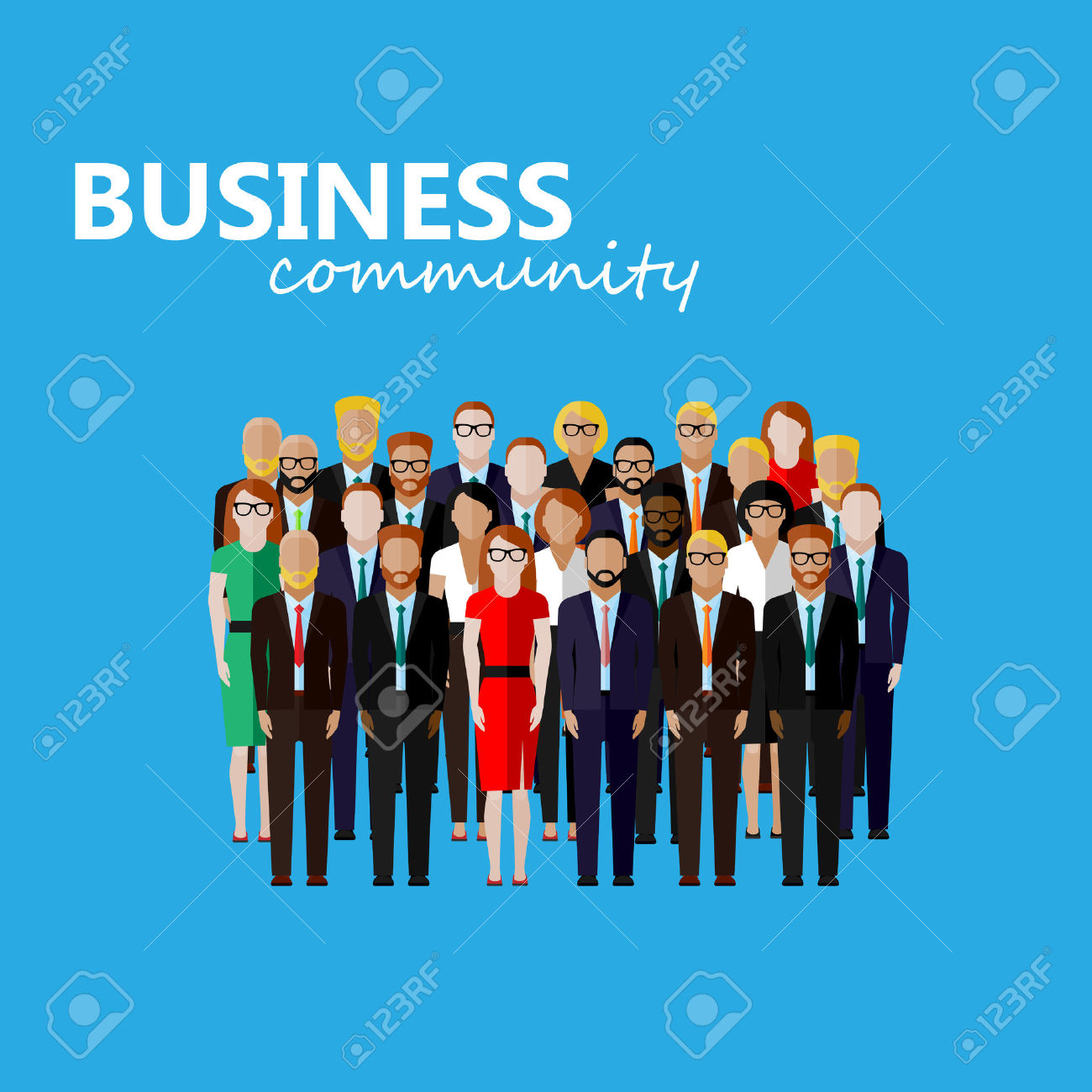 1,152 Professional Business Dress Women Stock Illustrations.