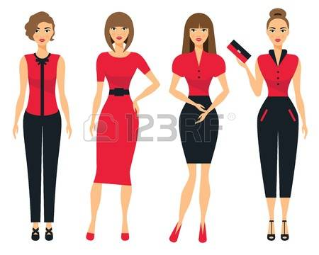 391 Clothes For Women Stock Illustrations, Cliparts And Royalty.