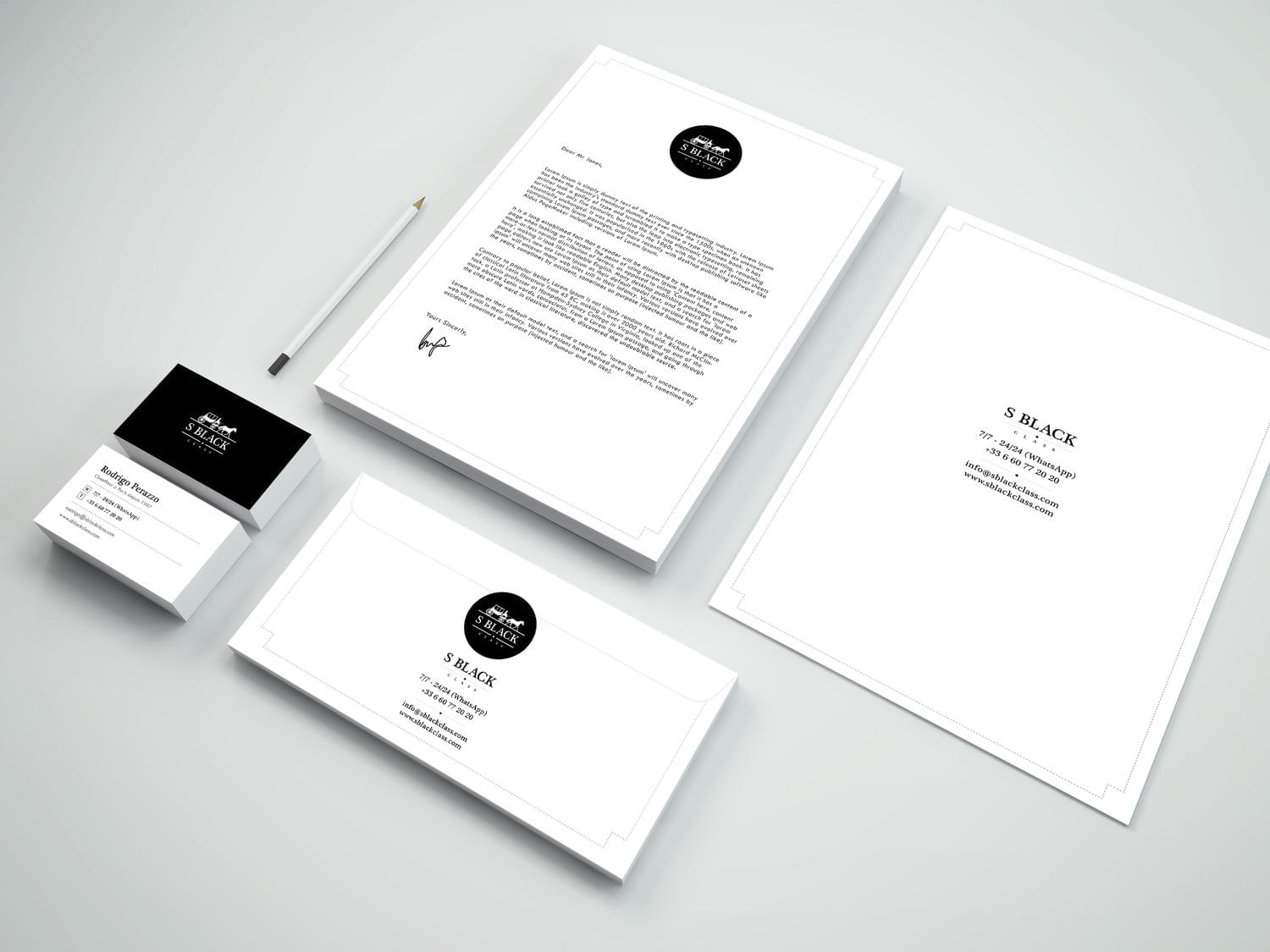 Professional Business cards, Letterheads, Envelopes and.