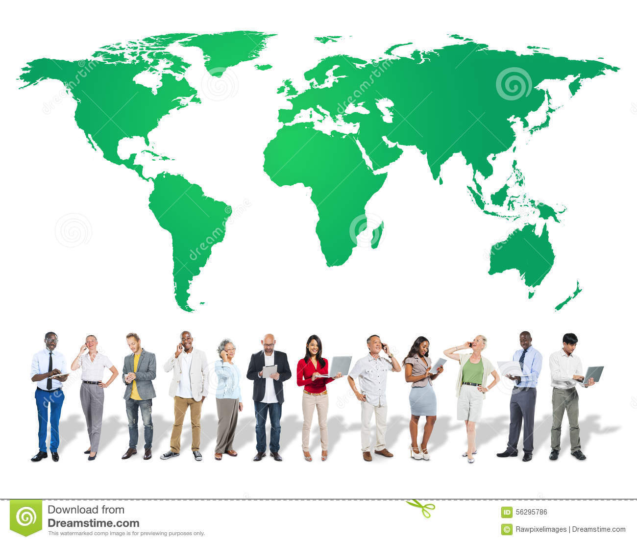 Green Business Environment Global Conservation Concept Stock Photo.