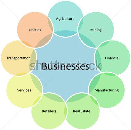 Business Diagram Clipart.