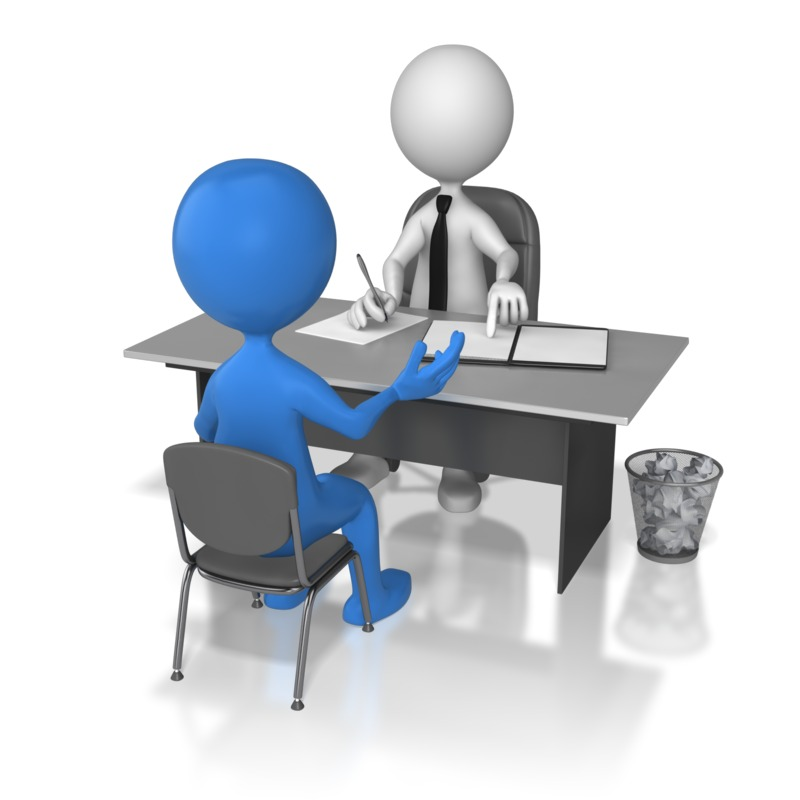 Business Interview Clipart.