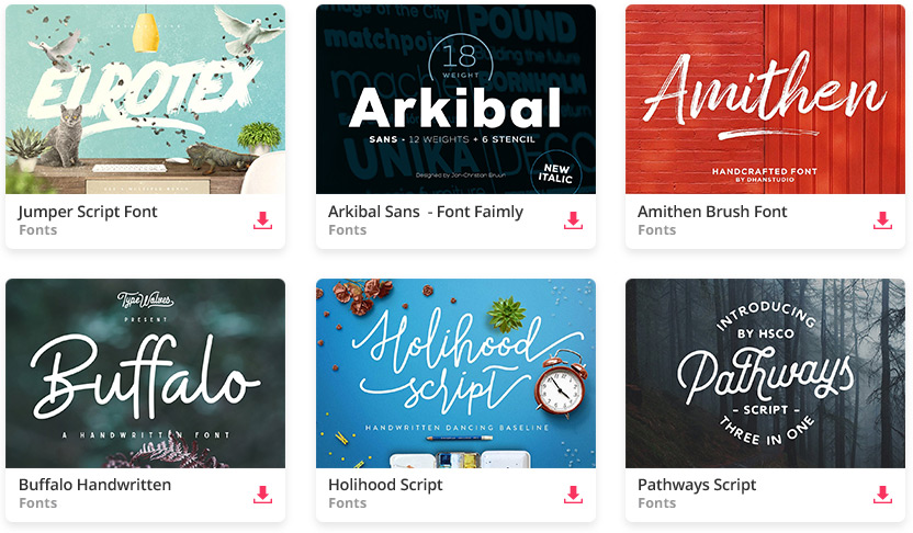The 150+ Best Modern Fonts Collection for 2019.