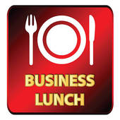Business Lunch Clip Art.