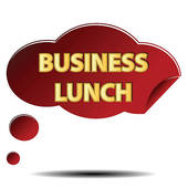 Business Lunch Clip Art.