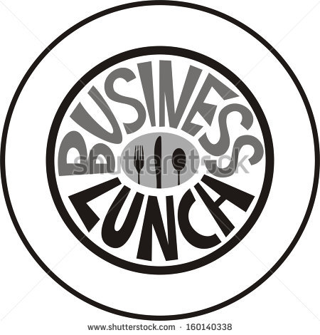 Business Lunch Stock Illustrations, Images & Vectors.