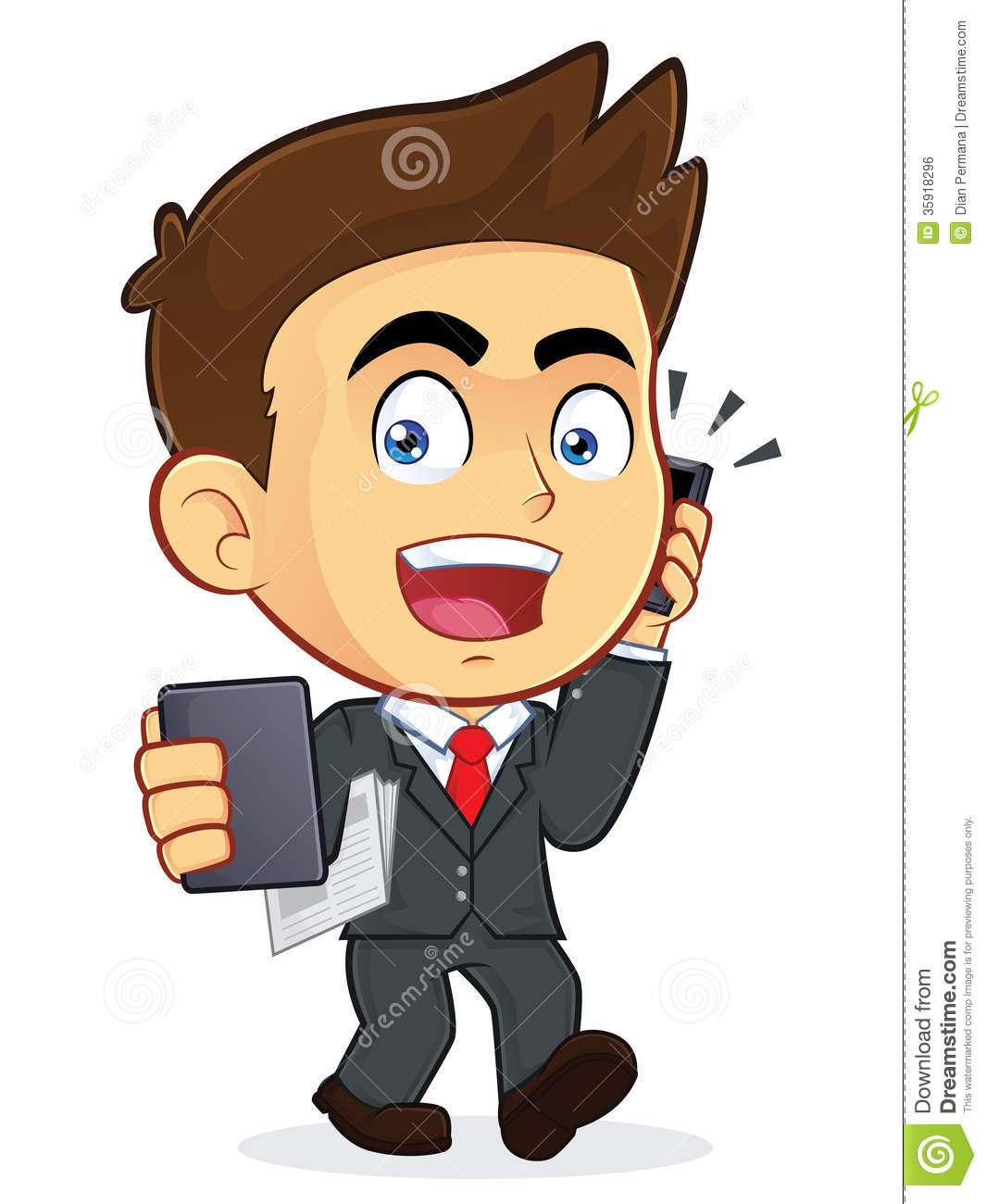 Business Man Clipart.