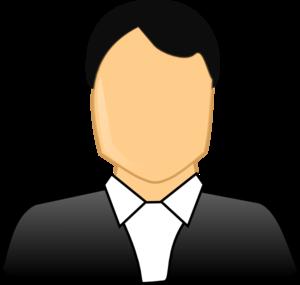 Male Formal Business Clip Art at Clker.com.