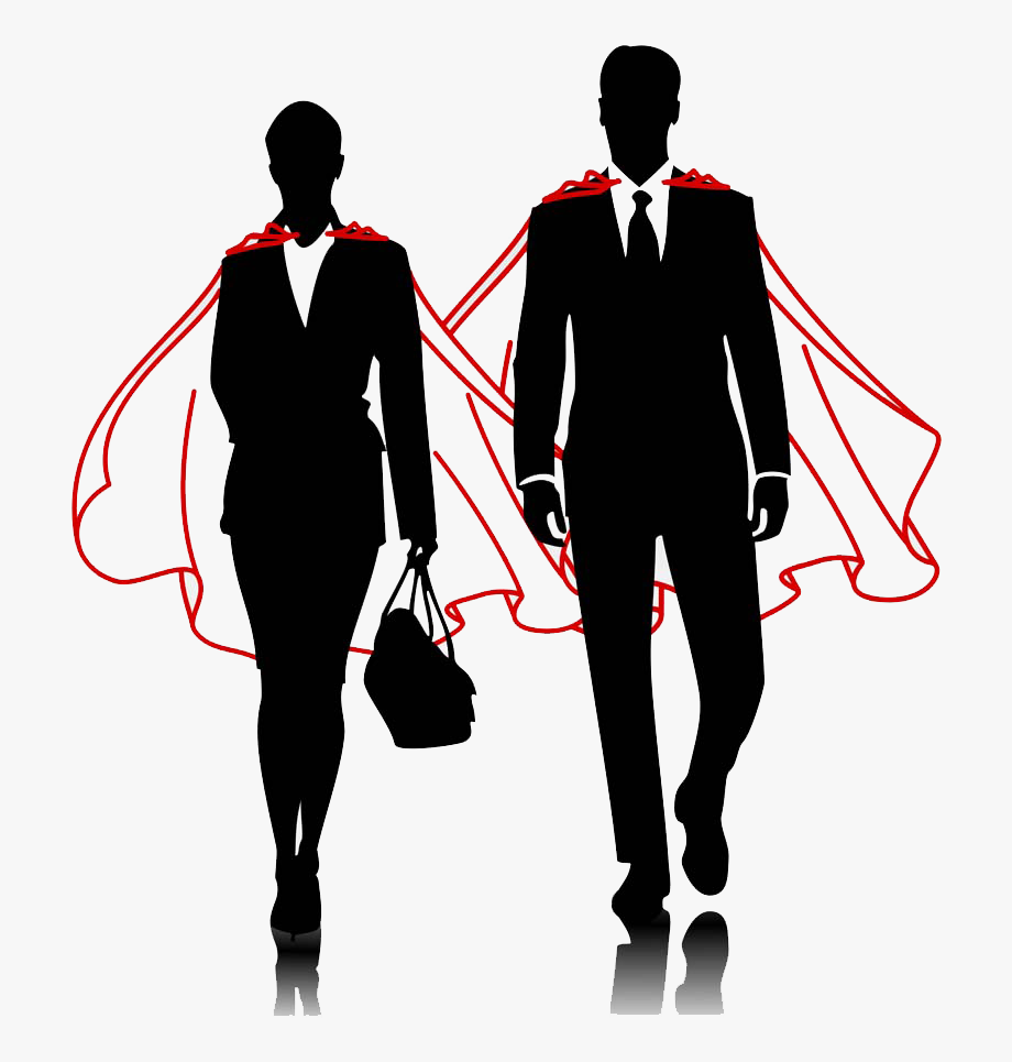 And Superhero Business Men Businessperson Women Clipart.