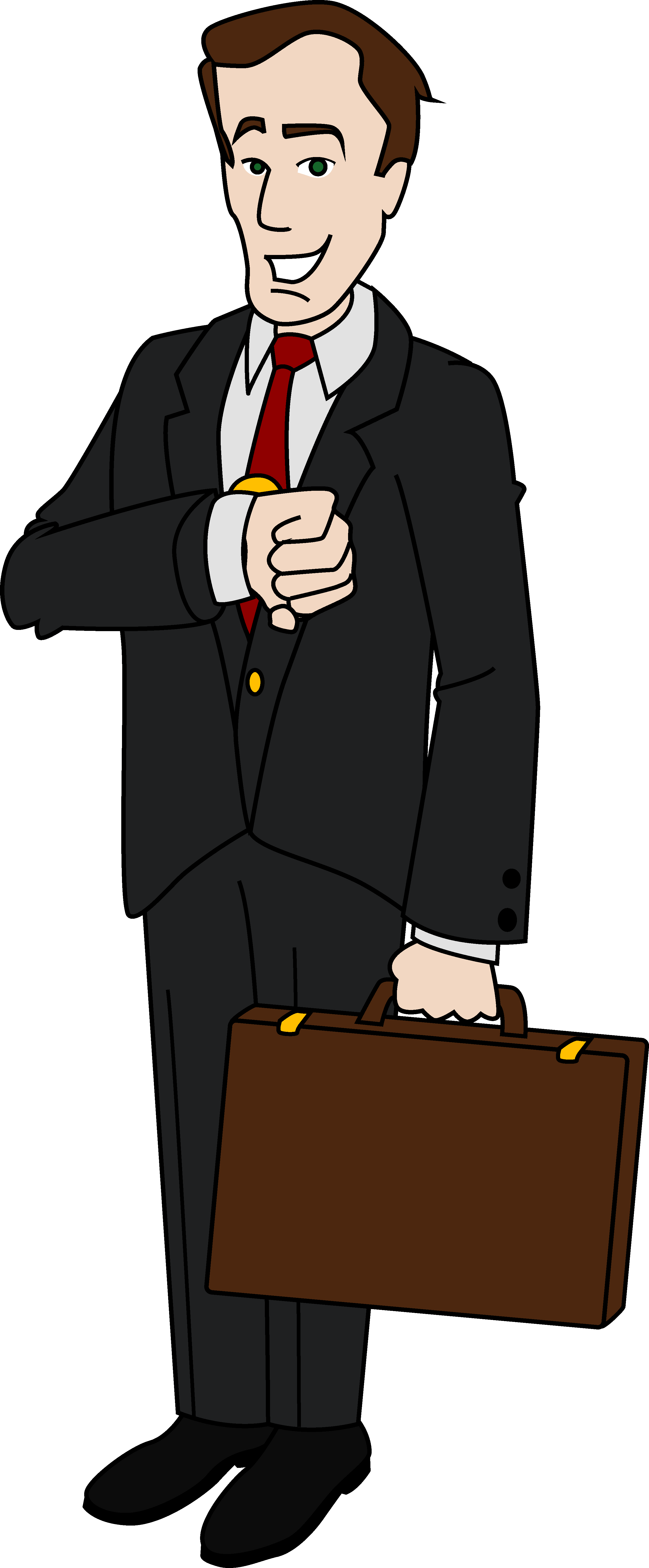 Businessman Clipart Free.