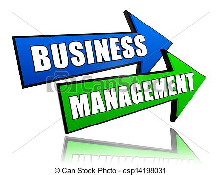 Business Management And Administration Clipart.
