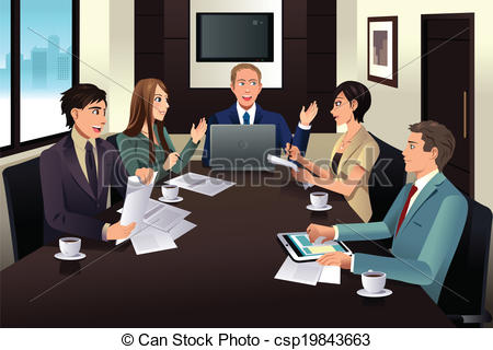 Office meeting Clip Art and Stock Illustrations. 34,905 Office.