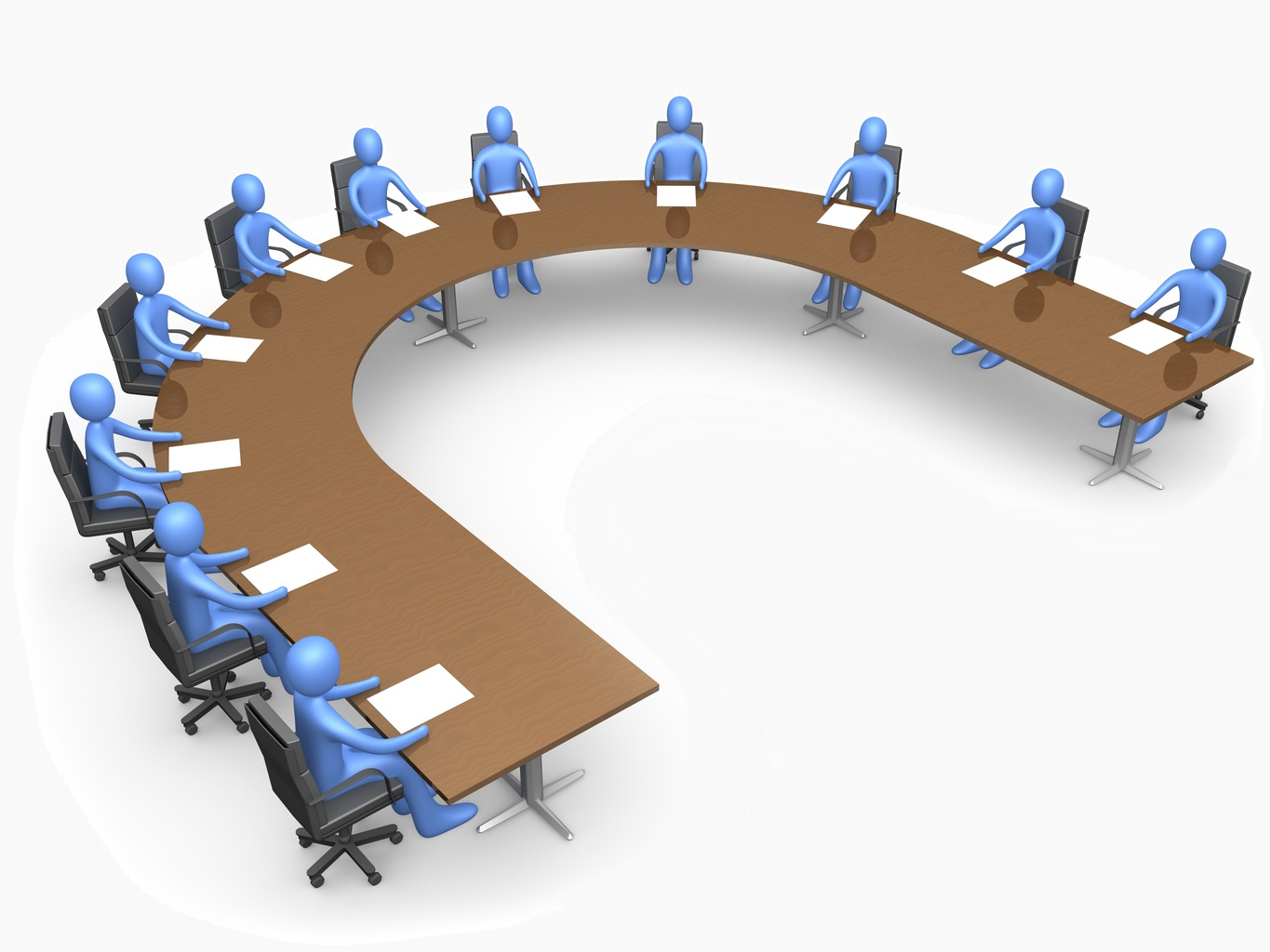 Business meeting clip art free vector 4vector clipartcow 2.