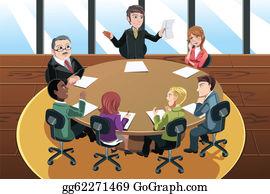 Business Meeting Clip Art.