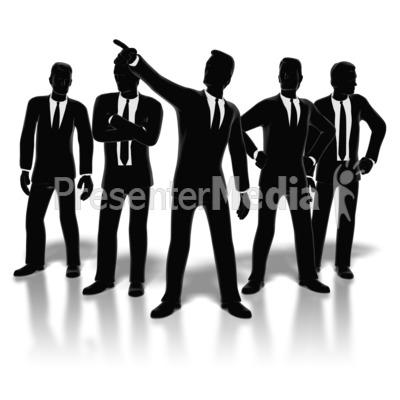 Businessmen Posed.