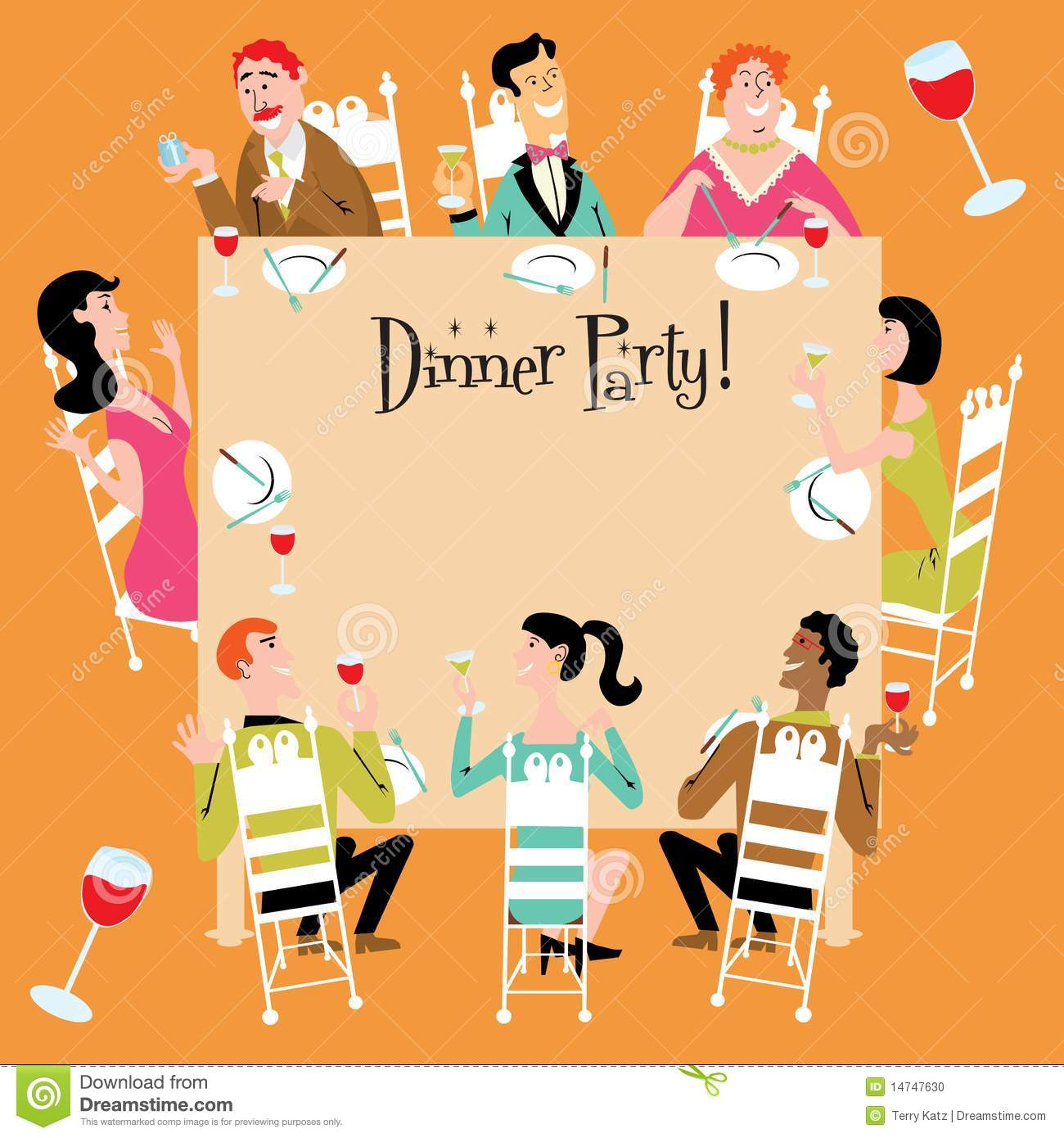 Business Dinner Party Clip Art Www.galleryhip.com The.